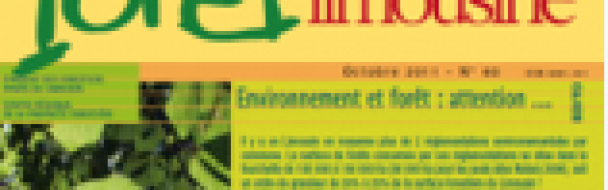 Le dernier numéro de Forêt Limousine vient de paraître.