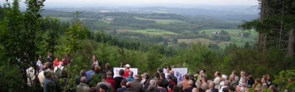 Journée forestière du 2 août à la Nouaille en Creuse